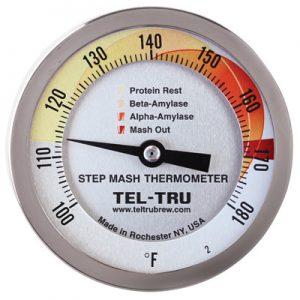 Step Mash thermometer